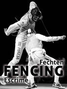Fechten. Fencing. Escrime