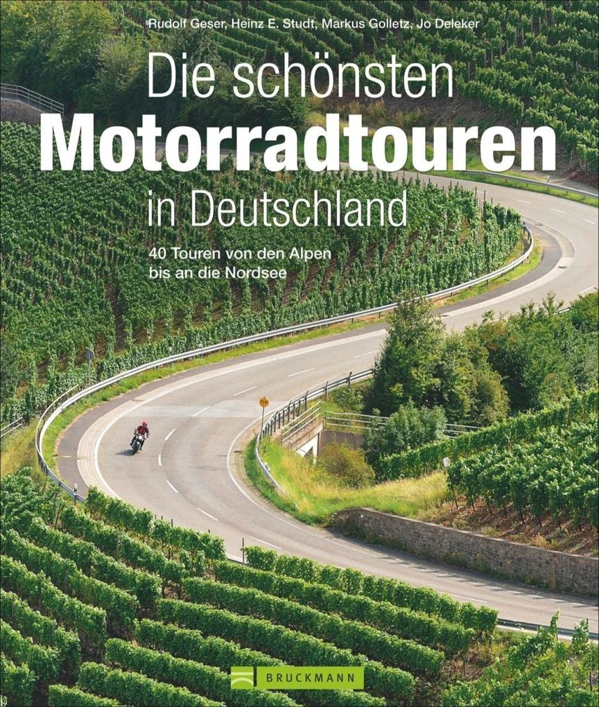 die sch nsten motorradtouren in deutschland buch rudolf. Black Bedroom Furniture Sets. Home Design Ideas