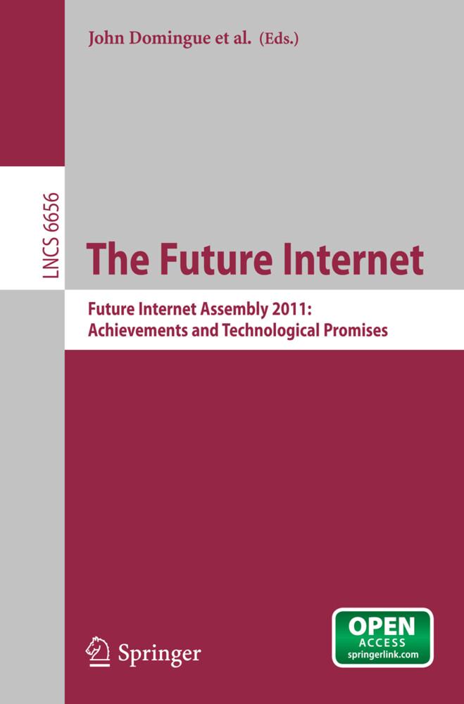 The Future Internet als Buch von