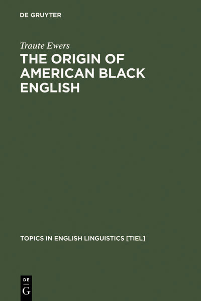 The Origin of American Black English als Buch v...