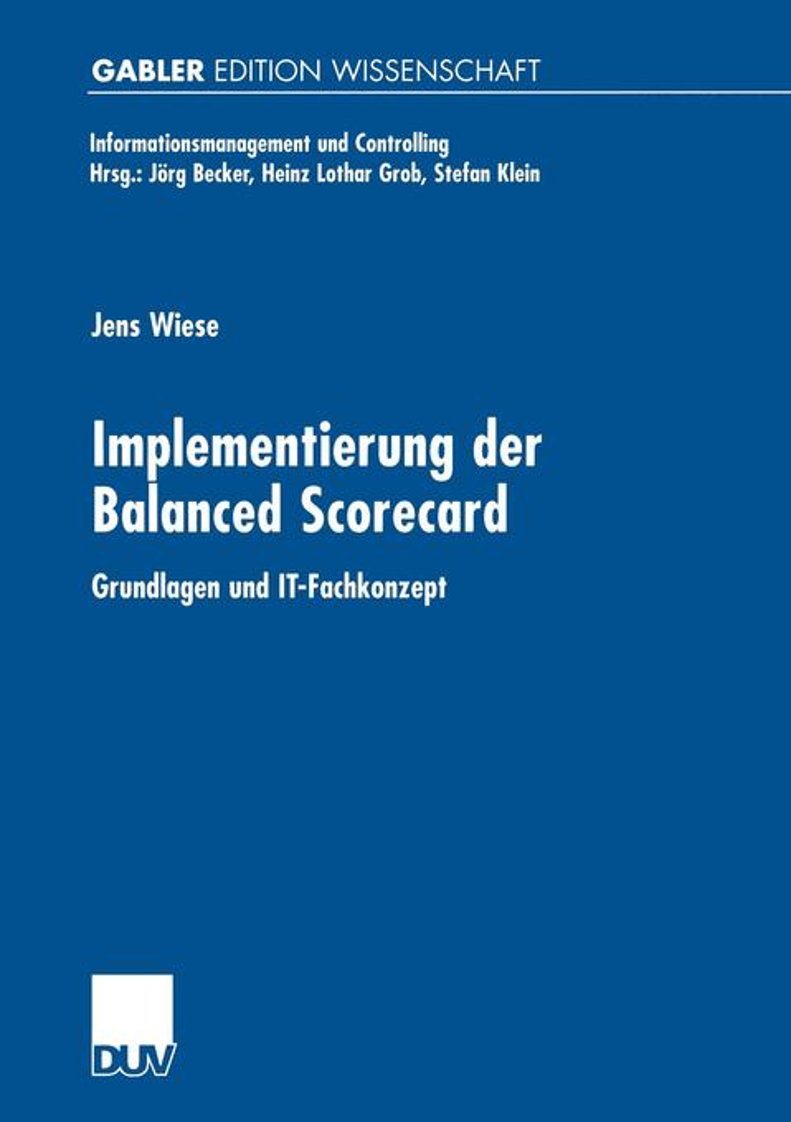 Implementierung der Balanced Scorecard als Buch