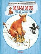 Mama Muh fährt Schlitten