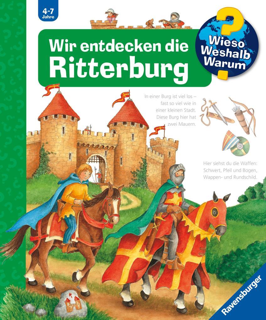 Wir entdecken die Ritterburg als Buch