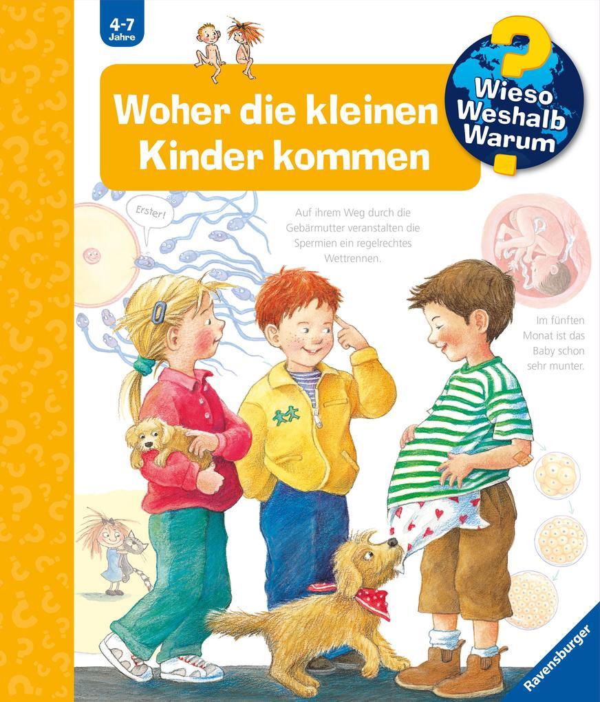 Woher die kleinen Kinder kommen als Buch