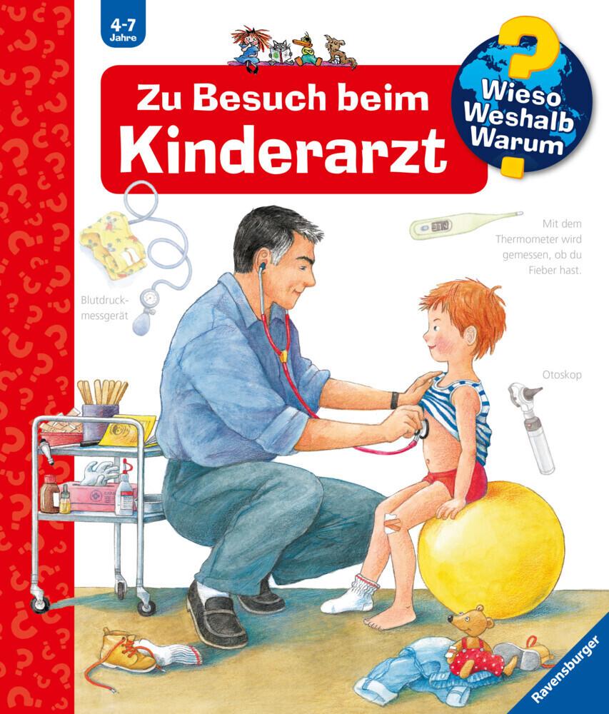 Zu Besuch beim Kinderarzt als Buch