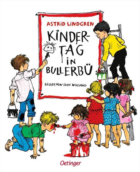 Kindertag in Bullerbü als Buch