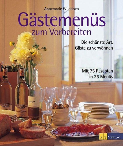 Gästemenüs zum Vorbereiten als Buch