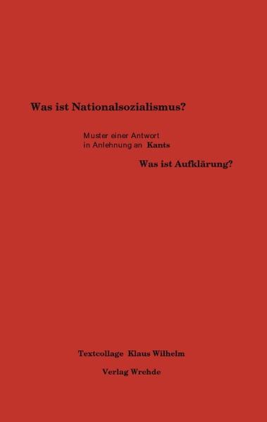 Was ist Nationalsozialismus? als Buch