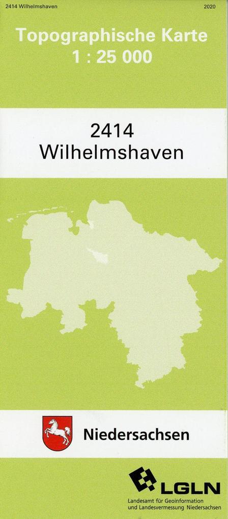 Wilhelmshaven 1 : 25 000. (TK 2414/N) als Buch
