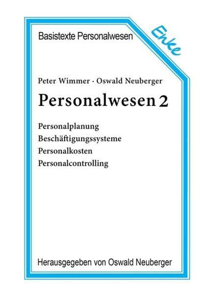 Personalwesen 2 als Buch
