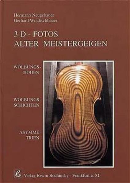 3D-Fotos alter Meistergeigen als Buch von Herma...