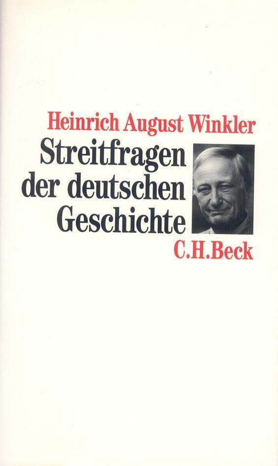 Streitfragen der deutschen Geschichte als Buch