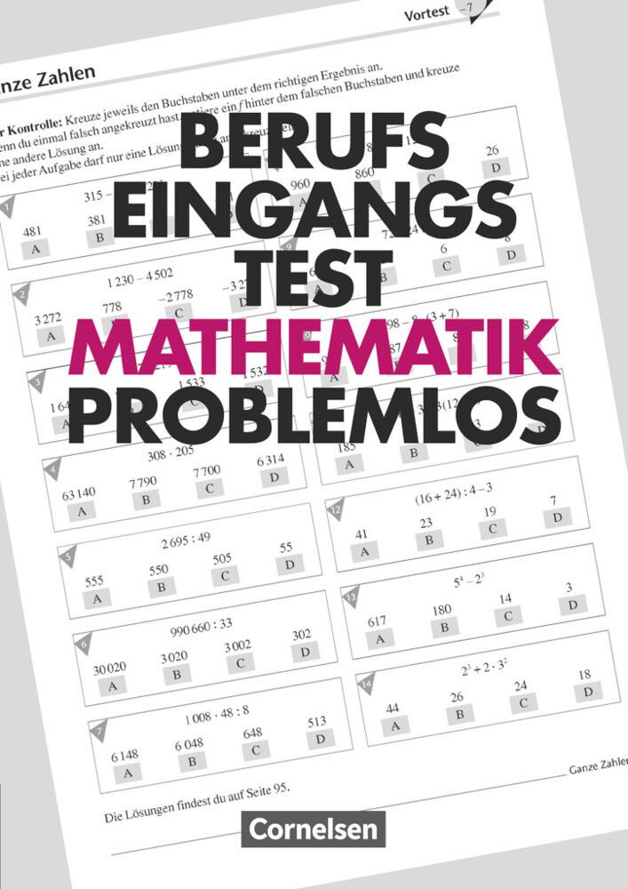 Berufseingangstest: Mathematik problemlos als Buch