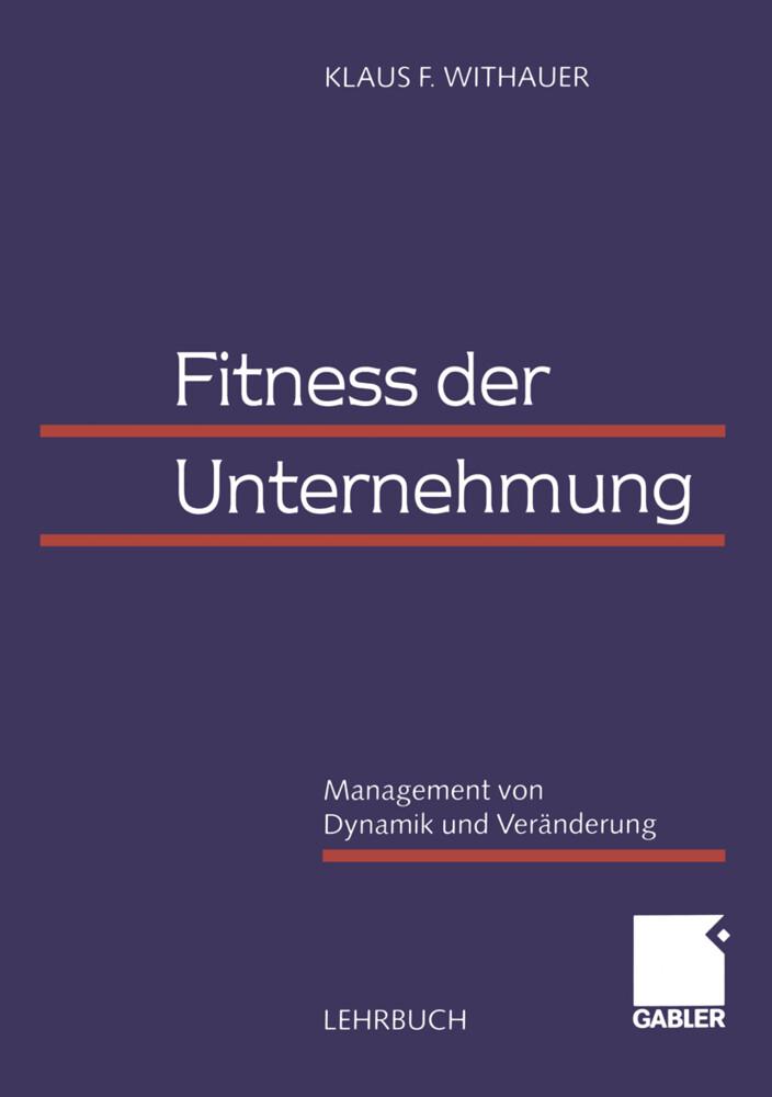 Fitness der Unternehmung als Buch