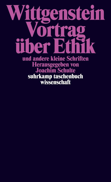 Vortrag über Ethik und andere kleine Schriften als Taschenbuch