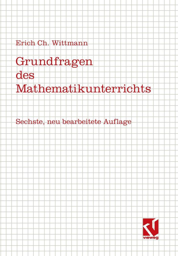 Grundfragen des Mathematikunterrichts als Buch
