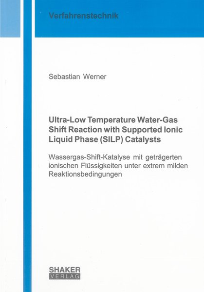 Ultra-Low Temperature Water-Gas Shift Reaction ...