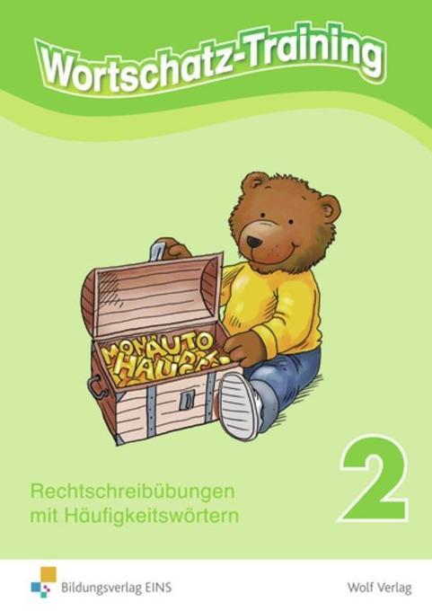 Wortschatz-Training 2 als Buch
