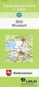 Wunstorf 1 : 25 000. (TK 3522/N)