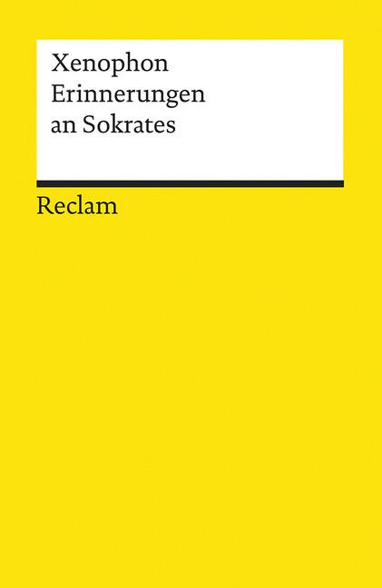 Erinnerungen an Sokrates als Taschenbuch