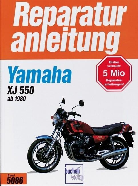 Yamaha XJ 550 als Buch