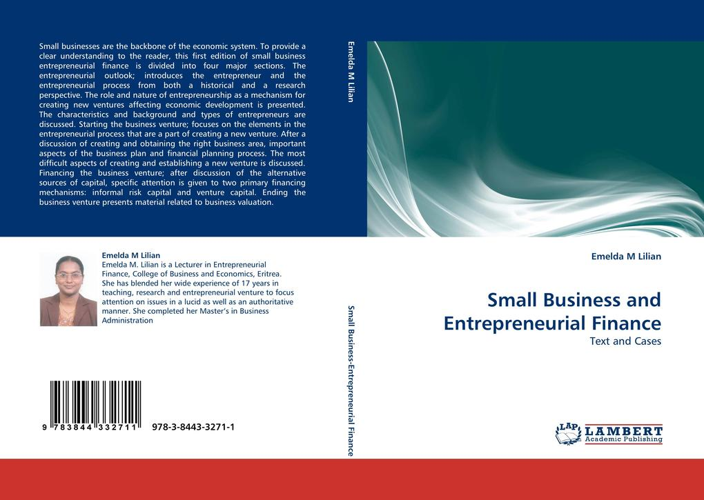 Small Business and Entrepreneurial Finance als ...