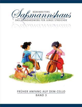 Früher Anfang auf dem Cello. Bd.3 als Buch
