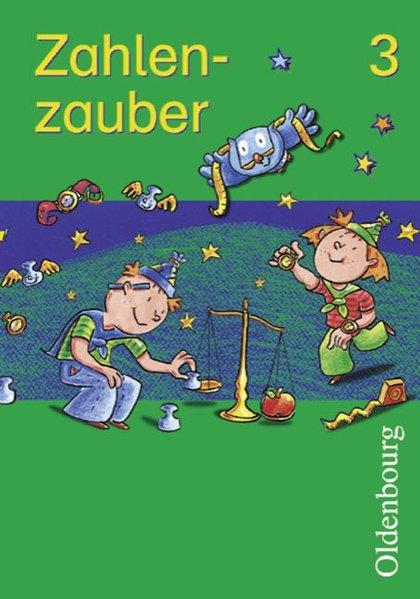 Zahlenzauber 3. Schülerbuch. Bayern. Euro als Buch