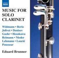 Musik für Solo-Klarinette