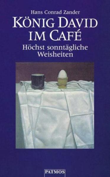 König David im Cafe als Buch