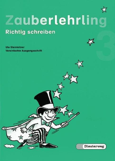 Zauberlehrling 3 Vereinfachte Ausgangsschrift als Buch