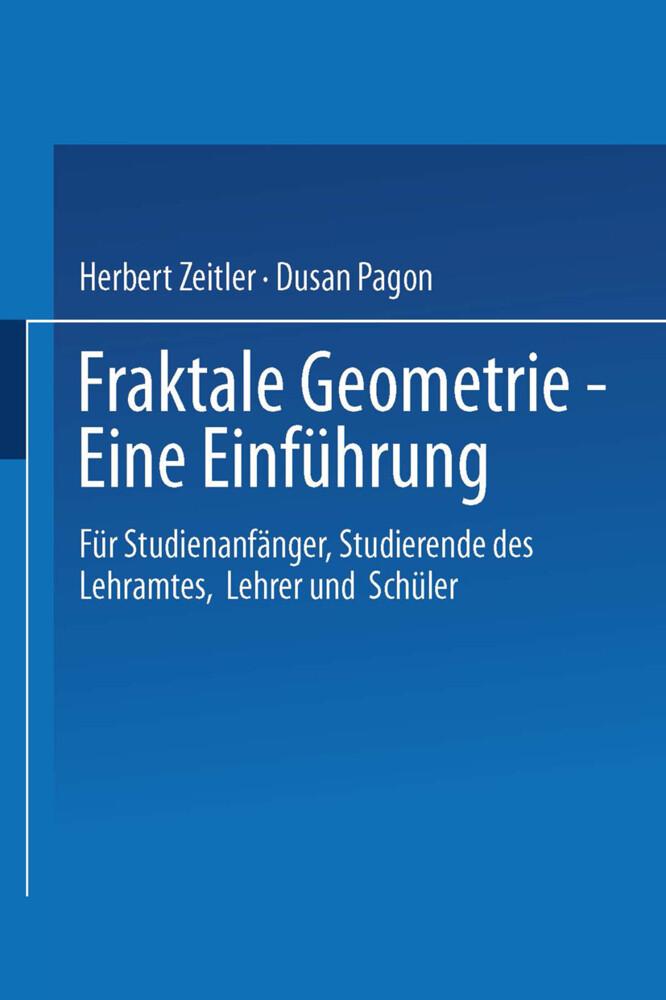 Fraktale Geometrie - Eine Einführung als Buch