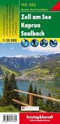Zell am See, Kaprun, Saalbach 1 : 50 000. WK 382