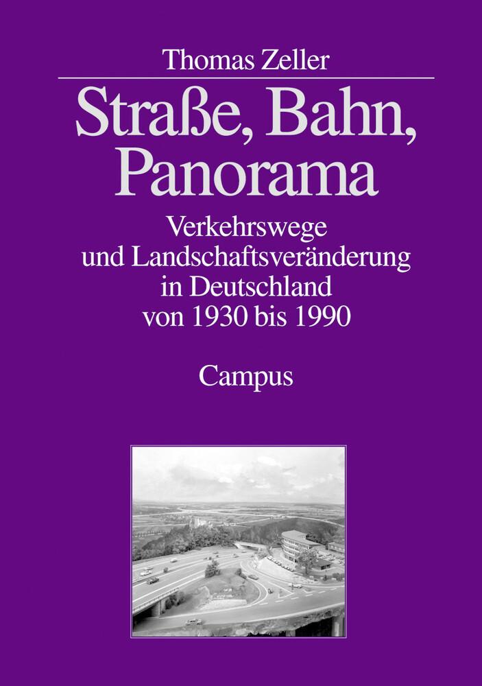 Straße, Bahn, Panorama als Buch