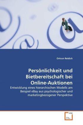 Persönlichkeit und Bietbereitschaft bei Online-...