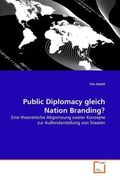 Public Diplomacy gleich Nation Branding?
