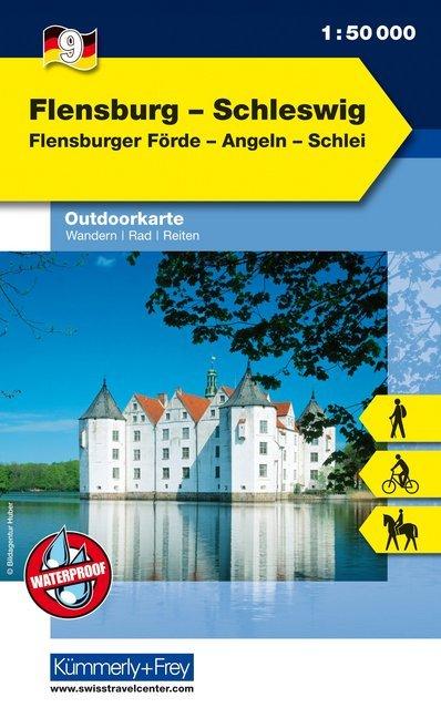 KuF Deutschland Outdoorkarte 09 Flensburg - Sch...