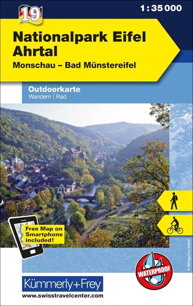 KuF Deutschland Outdoorkarte 19 Nationalpark Ei...