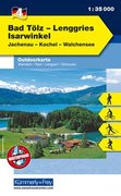 KuF Deutschland Outdoorkarte 04 Bad Tölz - Lenggries, Isarwinkel 1 : 35.000.