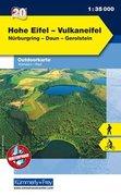 KuF Deutschland Outdoorkarte 20 Hohe Eifel - Vulkaneifel 1 : 35.000