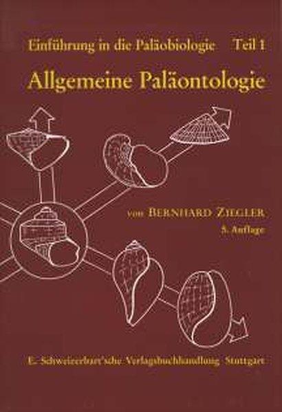 Allgemeine Paläontologie als Buch