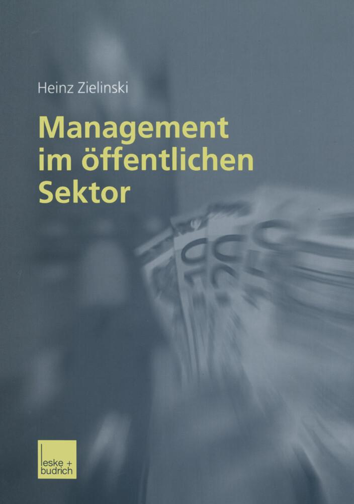Management im öffentlichen Sektor als Buch