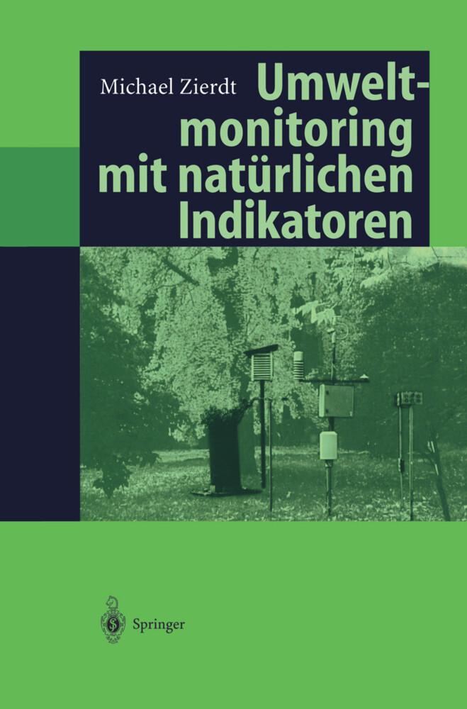 Umweltmonitoring mit natürlichen Indikatoren als Buch