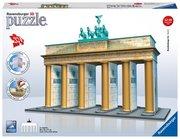 Ravensburger Spiel - 3D Vision Puzzle - Bauwerke - Brandenburger Tor 324 Teile