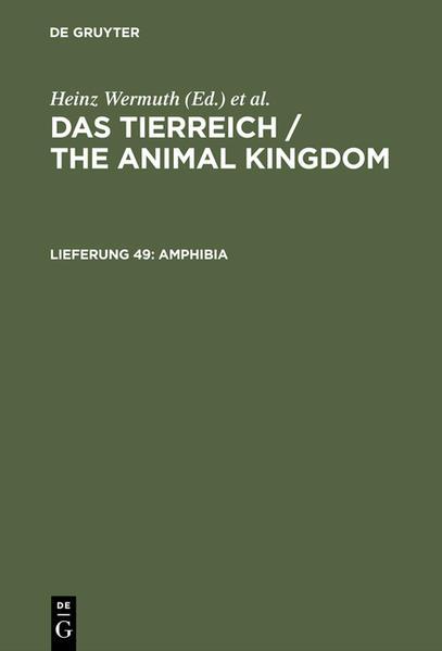 Amphibia als Buch von Fritz Nieden