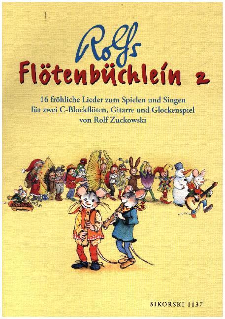 Flötenbüchlein 2 als Buch