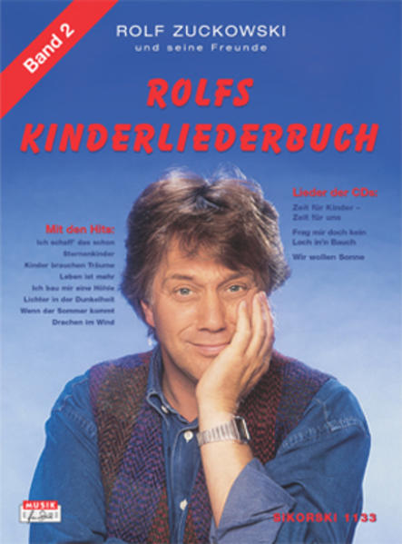 Rolfs Kinderliederbuch II als Buch