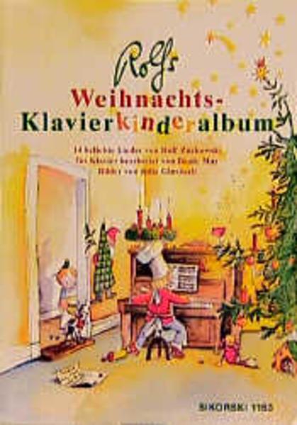 Rolfs Weihnachts-Klavierkinderalbum als Buch