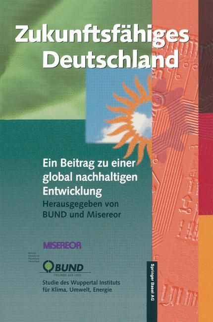 Zukunftsfähiges Deutschland als Buch