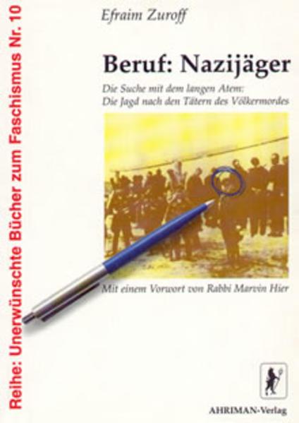Beruf: Nazijäger als Buch